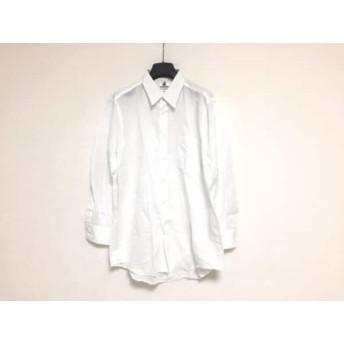 【中古】 ランバン LANVIN 長袖シャツ サイズ42-82 メンズ 白