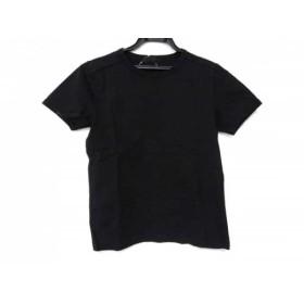 【中古】 マーガレットハウエル MargaretHowell 半袖Tシャツ サイズ2 M レディース 黒