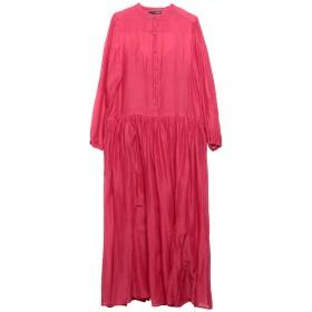 《期間限定 セール開催中》.TESSA レディース 7分丈ワンピース・ドレス ガーネット 38 コットン 70% / シルク 30%