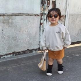 子供服 パーカー 長袖 女の子 韓国子供服 スウェット カジュアル トップス シンプル プルオーバー キッズ 新作 ジュニア