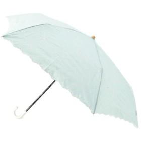 傘・日傘・折りたたみ傘 - grove リリーフローレット刺繍ミニパラソル