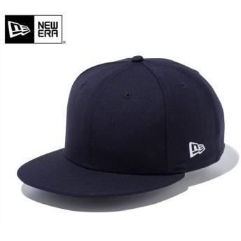 【メーカー取次】 NEW ERA ニューエラ 9FIFTY ベーシック ネイビーXホワイトロゴ 12336634 キャップ メンズ レディース 無地 帽子 ブランド【Sx】