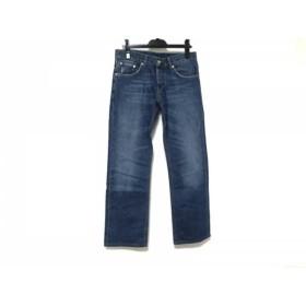 1af60eeaab85 【中古】 プラダ PRADA ジーンズ サイズ30 メンズ ブルー ライトブルー ボタンフライ/CLASSIC
