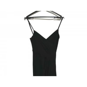 【中古】 ビーシービージーマックスアズリア BCBGMAXAZRIA ドレス サイズXXS XS レディース 黒 フリル