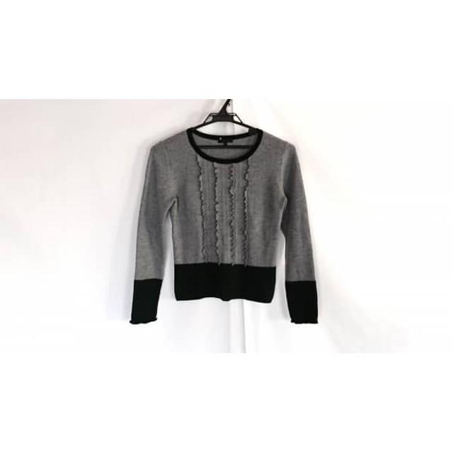 【中古】 トゥービーシック TO BE CHIC 長袖セーター サイズI S レディース 美品 グレー グリーン