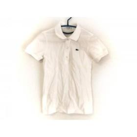 【中古】 ラコステ Lacoste 半袖ポロシャツ サイズ34 S レディース 美品 白