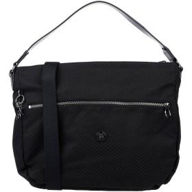 《期間限定セール開催中!》KIPLING レディース ハンドバッグ ブラック 革 / 紡績繊維