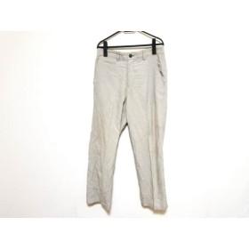 【中古】 イッセイミヤケ ISSEYMIYAKE パンツ サイズ2 M メンズ ライトグレー