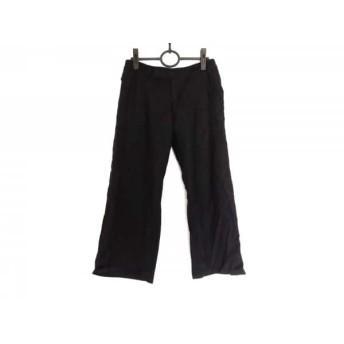 【中古】 ミズイロインド mizuiro ind パンツ サイズ3 L レディース 黒