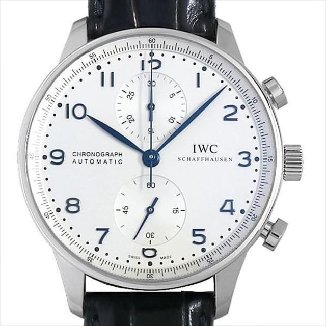new product 2ab15 9af9b 48回払いまで無金利 IWC ポルトギーゼ クロノグラフ IW371446 ...