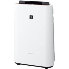 SHARP KC-G40-W ホワイト系 [加湿空気清浄機 (空気清浄18畳/加湿11畳まで)]