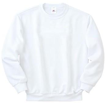 MIZUNO SHOP [ミズノ公式オンラインショップ] スウェットシャツ(ホワイト/マーク無) 01 ホワイト 87WK800