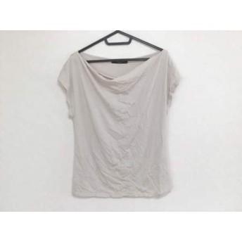 【中古】 マックスマーラウィークエンド 半袖Tシャツ サイズM レディース ベージュ ラインストーン