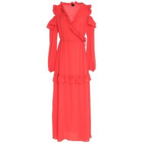 《セール開催中》PINKO レディース ロングワンピース&ドレス コーラル 38 ポリエステル 100%