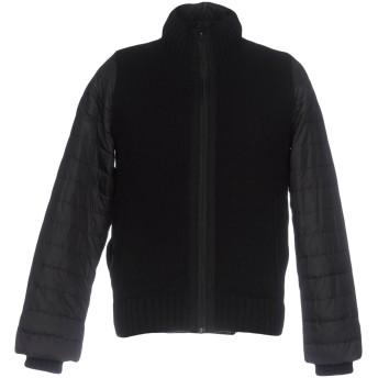 《期間限定セール開催中!》DUVETICA メンズ ダウンジャケット ブラック 46 100% バージンウール ナイロン
