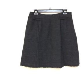 【中古】 セオリーリュクス theory luxe スカート サイズ40 M レディース ダークグレー