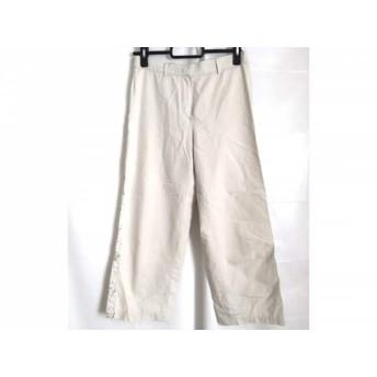 【中古】 エンポリオアルマーニ EMPORIOARMANI パンツ サイズ36 S レディース グレージュ フラワー/刺繍