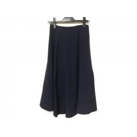 【中古】 ルシェルブルー LE CIEL BLEU ロングスカート サイズ34 S レディース ブルー