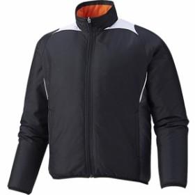 アシックス(asics) ジュニア 野球 アウター グラウンドコート ブラック BAG11J 90 【トレーニングウェア スポーツウェア ジャンバー ブ