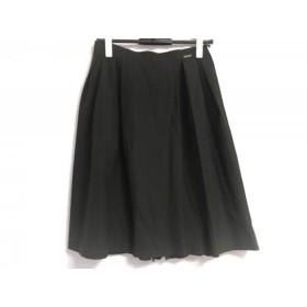 【中古】 フォクシーニューヨーク スカート サイズ40 M レディース 美品 バックプリーツスカート 33961