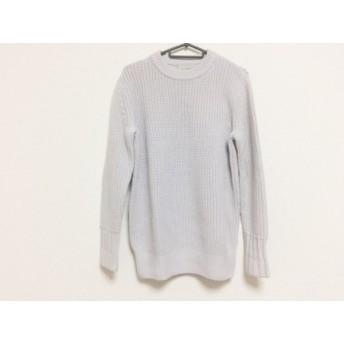 【中古】 フォンデル VONDEL 長袖セーター サイズS レディース 美品 ライトグレー