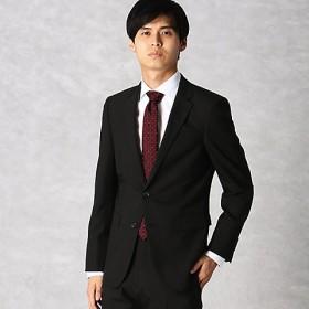 <COMME CA MEN > ポリスト小紋ドビー セットアップジャケット(0704GL08) クロ 【三越・伊勢丹/公式】