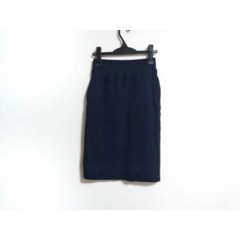 【中古】 ハイク HYKE スカート サイズ1 S レディース ネイビー