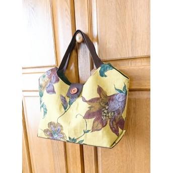 Exotic Flower ミスティックイエローのおしゃれなトートバッグ ショルダーバッグ