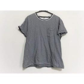 【中古】 スペリー トップサイダー 半袖Tシャツ サイズLL レディース ダークネイビー 白 ボーダー