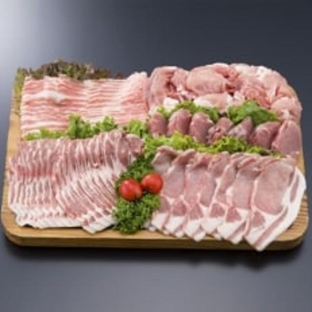 きなこ豚 バラエティセット(しゃぶしゃぶ・生姜焼き用など)計2.1kg