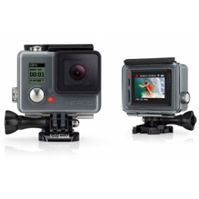 GoPro ウェアラブルカメラ HERO+LCD (タッチディスプレイ搭載)CHDHB-101-J(中古品)