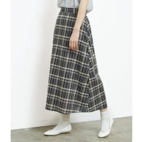[マルイ]【セール】【WEB限定】綿麻チェックロングスカート/ロペピクニック(ROPE' PICNIC)