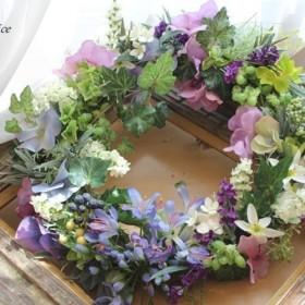 *[早割]アガパンサスのNatural wreath*