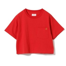 UNIVERSAL OVERALL × B:MING by BEAMS / 別注 ショート ポケットTシャツ 19SS レディース Tシャツ RED ONE SIZE