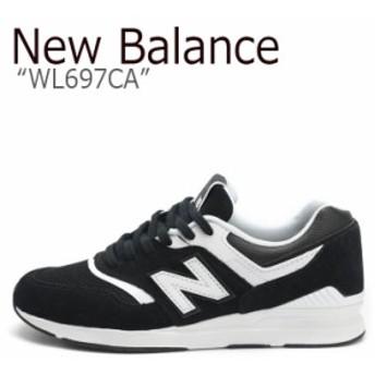 ニューバランス 697 スニーカー New Balance メンズ レディース WL 697 CA New Balance697 BLACK ブラック WL697CA シューズ