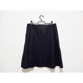 【中古】 トゥービーシック TO BE CHIC スカート サイズ46 XL レディース - 黒