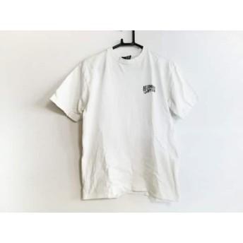 【中古】 ビリオネアボーイズクラブ 半袖Tシャツ サイズS メンズ 白 ライトグレー グレー