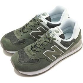 【日本正規品】ニューバランス newbalance WL574 ESA レディース スニーカー 靴 MINERAL GREEN グリーン系 [WL574ESA SS19]