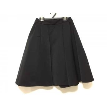 【中古】 コトゥー COTOO スカート サイズ36 S レディース 黒