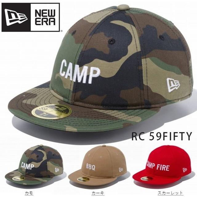 NEW ERA ニューエラ RC 59FIFTY ワード キャップ キャンプファイヤー バーベキュー キャンプ アウトドア 帽子 CAP 2019春夏新作 15%off