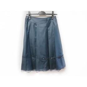 【中古】 ボディドレッシングデラックス BODY DRESSING Deluxe スカート サイズ38 M レディース ネイビー