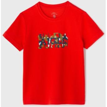 AIGLE キッズ・ベビー キッズ・ベビー 吸水速乾 UVカット テディ Tシャツ ZTJI465 POPPY (00C) キッズウェア