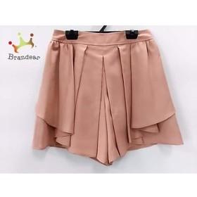 ジャスグリッティー JUSGLITTY パンツ サイズ2 M レディース 美品 ピンク     スペシャル特価 20190801