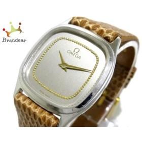 オメガ OMEGA 腕時計 - レディース シルバー  値下げ 20190330