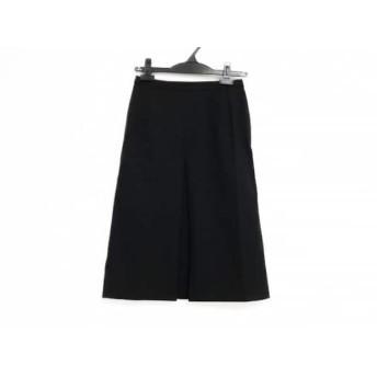 【中古】 バーバリーロンドン Burberry LONDON スカート サイズ5 XS レディース 美品 黒