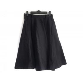 【中古】 グランマママドーター GRANDMA MAMA DAUGHTER スカート サイズ0 XS レディース 黒