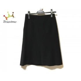 ニジュウサンク 23区 スカート サイズ36 S レディース 美品 黒 vingt-trois arrondissements     スペシャル特価 20190731