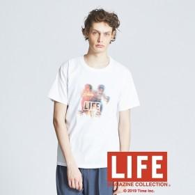 [マルイ]【セール】【LIFE】プリントTシャツ/アバハウス(ABAHOUSE)
