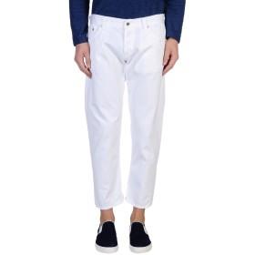 《期間限定セール開催中!》DONDUP メンズ パンツ ホワイト 32 コットン 100%