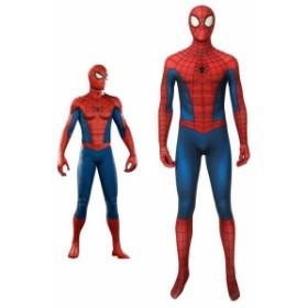 スパイダーマン 戦闘服 修復版 Marvels Spider-Man Classic suit (repaired) コスプレ衣装[4273]